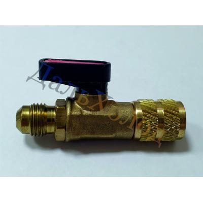 Вентиль запорный 5/16М x1/4F ВС-02 пласт