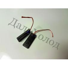 Щетки угольные 13,5*5*35мм (к-кт, моно)