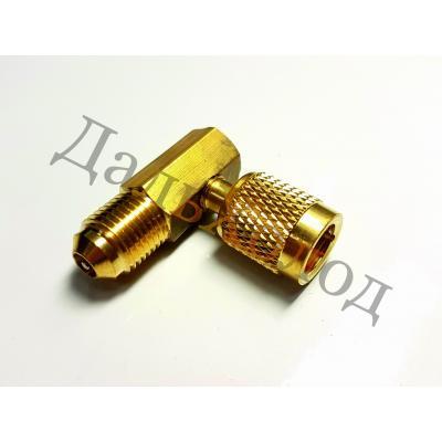 Адаптер V03 угловой (М5/16 х F1/4)