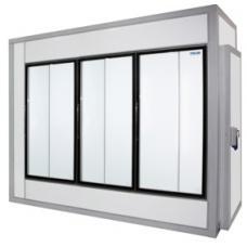 Холодильная камера КХН-6,61 со стеклянным фронтом
