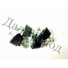 Виброгаситель (М8) (комплект 4шт) ЧЕРНЫЕ до 80кг