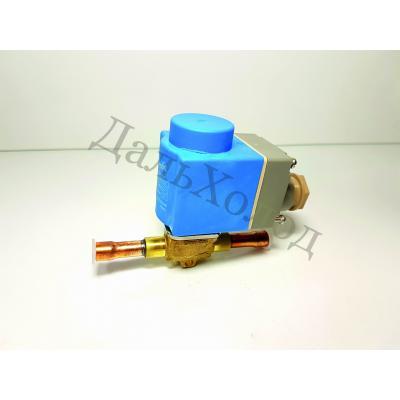 Вентиль соленоидный Danfoss EVR 6 (032F1212) 3/8 в сборе с катушкой IP 67 (018F6701)