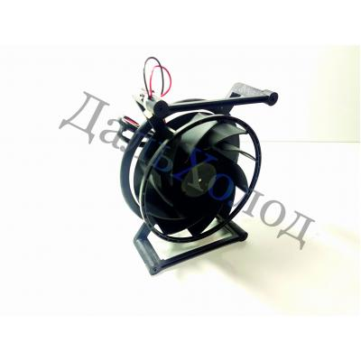 Вентилятор центробежный NMB 110*37, диам 43мм, 12V