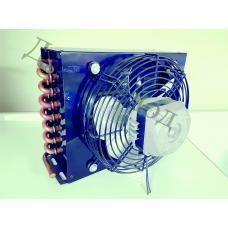 Конденсатор CD-2 с вентилятором и решеткой в сборе