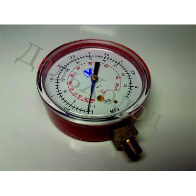 Мановакууметр МН-08 (80мм) R410