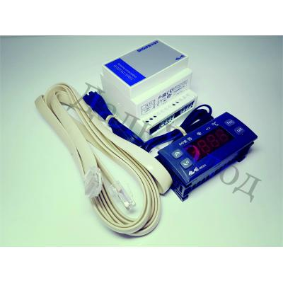 Блок управления Eliwell IS 972 LX (2датчика+шлейф-кабель)