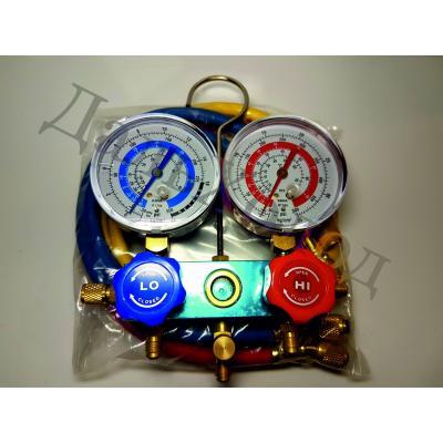 Коллектор двухвентильный FC-136G R-22,134,404 (со шлангами)