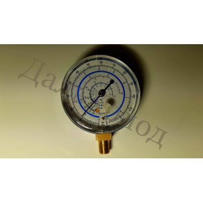 Манометр низкого давления RG-250 (63мм) R134,404,407,22