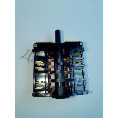 Переключатель конфорки ПМ 16-5-01 вал 16,5мм 5-позиц