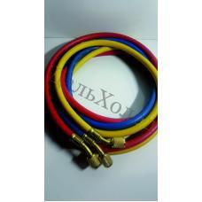 Комплект шлангов зарядных 336RYB-B (90см; 600-3000Psi; 1/4) (3шт)