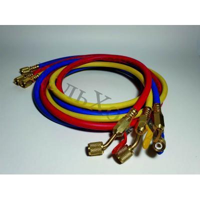 Комплект шлангов с вентилями E-360RYB-B (150см;600-3000Psi) (3шт)