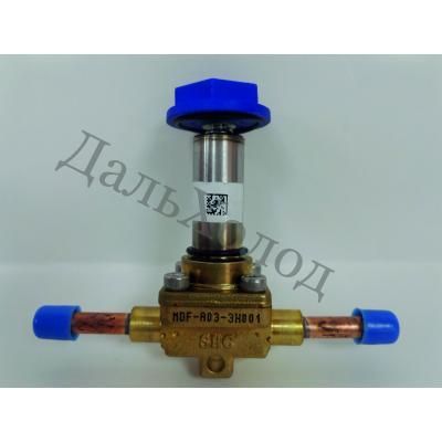 Вентиль соленоидный Sanhua MDF-A03-3H 001 (EVR3-1/4)