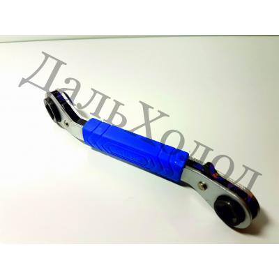 Ключ вентильный с трещеткой VRT-201