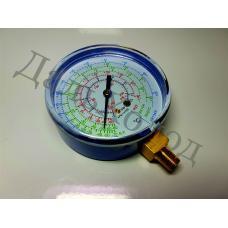 Мановакууметр R-22/407/410 (80мм) низкое давление