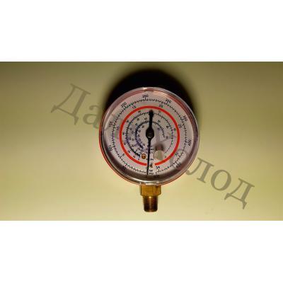 Манометр высокого давления RG-500 (63мм) R134,404,407,22