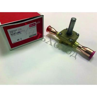 Вентиль соленоидный Danfoss EVR 15 (032F1225) 22мм