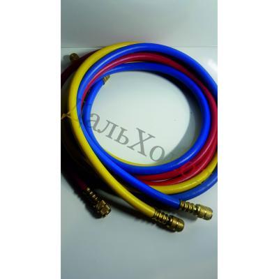 Комплект шлангов зарядных DS 72800 (180см; 800-4000Psi; 1/4-5/16) (3шт)  R410